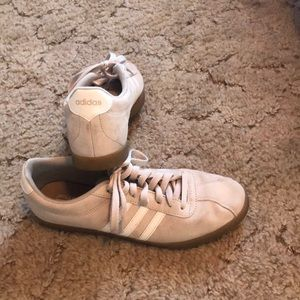 Adidas cream sneaker